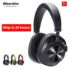 Bluedio <b>T7</b> Bluetooth <b>Headphones</b> User defined Active Noise ...