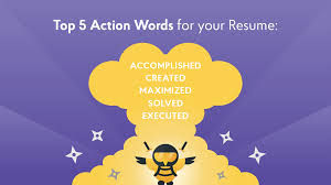 Verb List For Resumes 340 Resume Action Verbs And Power Words Complete List