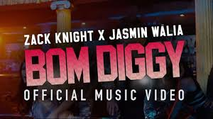 BOM DIGGY LYRICS Zack Knight Jasmin Walia LyricsBELL Unique Dam Degge Hndi Sung