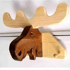 Moose Coat Rack Coat Rack Moose Do you scroll saw could you make a Christmas gift 15