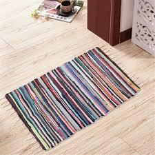 1 x handmade cotton rug