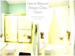 best way to clean shower glass doors how to clean hard water spots on glass shower