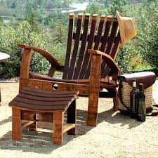 wine barrel chair plans photo 6 of 7 awesome actually stave adirondack wine barrel stave chair plans