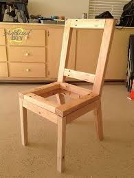 make dining chairs diy build dining room chairs woodworking projects plans