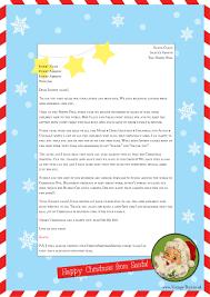 Free Letter From Santa Word Template Under Fontanacountryinn Com