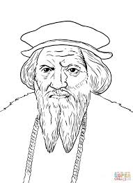 Small Picture John Cabot coloring page Free Printable Coloring Pages