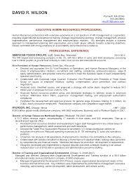 Hr Manager Sample Resume Resume Cv Cover Letter