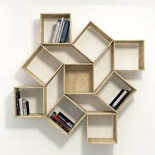 wooden wall hanging bookshelf at rs 650