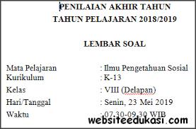 Ips (kelas 7) & sejarah (kelas 10). Soal Pat Ukk Ips Kelas 8 Kurikulum 2013 Terbaru