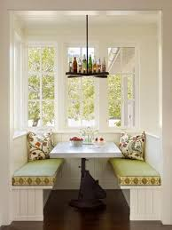 Corner breakfast nook furniture contemporary decorations Countertops Lushome 15 Cozy Interior Design Ideas For Space Saving Breakfast Nooks