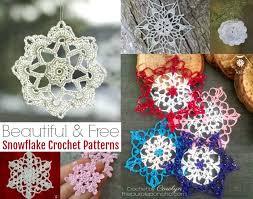 Crochet Snowflake Pattern Chart 12 Beautiful Free Snowflake Crochet Patterns