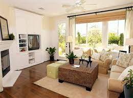 small square living room decor small