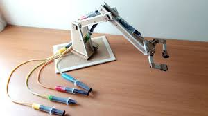 picture of cardboard robotic hydraulic arm picture of cardboard robotic hydraulic arm