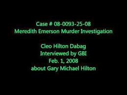 Cleo Hilton Dabag GBI Interview - YouTube
