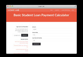 Loan Lab Loan Lab Provides Free Tools To Help You