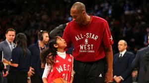 Kobe Bryant's daughter Gianna brought ...