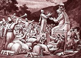 Image result for israel was led into the occult and idol worship by the false shepherds in the Bible