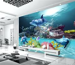 wallpaper for room decoration custom wallpaper underwater world photo wallpaper ocean wall murals kids bedroom nursery wallpaper for room
