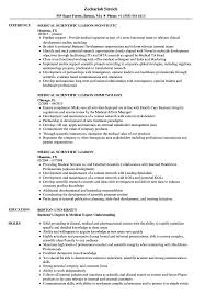 Clinical Liaison Resume Examples Medical Scientific Liaison Resume Samples Velvet Jobs 2