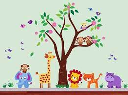 Plus, get free shipping on orders over $35. Baby Room Wall 15 Wall Art Ideas With Animals Interior Design Ideas Avso Org