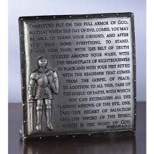 armor of desk plaque the catholic pany confirmation gifts for boys s