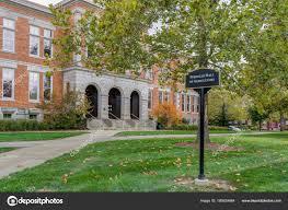 Purdue University Campus Pfendler Hall Of Agriculture On Campus Of Purdue University Stock