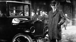 henry ford model t.  Henry Henry Ford With A Model T In Buffalo New York 1921 About Intended R