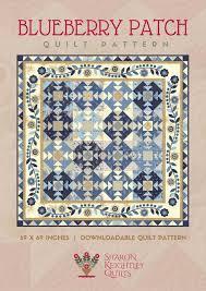Downloadable Quilt Patterns - Sharon Keightley Quilts & Blueberry Patch Quilt   Sharon Keightley Designs Adamdwight.com