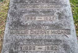 Amelie Cherry McCann (1896-Unknown) - Find A Grave Memorial