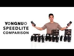 Yongnuo Speedlite Flash Comparison Guide Youtube