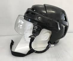 Ccm Vector V08 Pro Stock Hockey Helmet Small Black Ccm Visor 4575