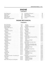 isuzu trooper service manual motor
