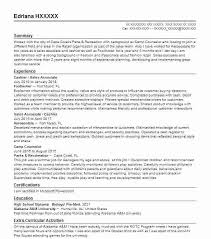 Summer Camp Counselor Resume Samples Twnctry