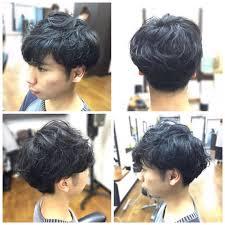 橋本 諒大さんのヘアスタイル エモさ際立つマッシュ系ツーブロ