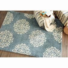 navy blue area rug beautiful mohawk home huxley slate blue exploded medallions woven area rug
