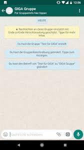 Whatsapp Gruppen Gruppenbeschreibung Hinzufügen So Gehts