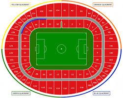 Emirates Stadium Seating Chart Emirates Stadium London