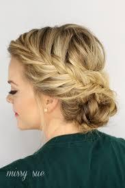 Braided Updo Hairstyles 85 Inspiration Fishtail Braided Updo