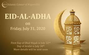 One should endevour to stay awake and engage in ibadah during this special night. Eid Al Adha 2020 Islamic Center Of Naperville
