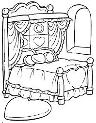 Small Picture Bed 81 Objects Printable coloring pages