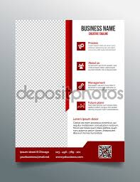 corporate business flyer template in modern sleek design stock corporate business flyer template in modern sleek design stock illustration
