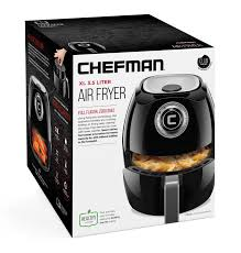 Chefman Air Fryer Cooking Chart 3 5 Liter Air Fryer With Flat Basket