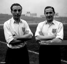 England footballers Stanley Matthews and Stan Mortensen. News Photo - Getty  Images