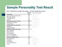 personality test results essay  personality test results essay