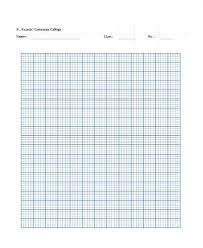 Engineering Graph Paper Template Grid Pdf 5 8 Letter
