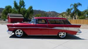 1957 Chevrolet Nomad Resto Mod   S221   Anaheim 2015