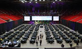 Cox Convention Center Seating Chart Arena Cox Convention Center