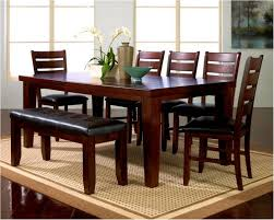 Red Cherry Dining Set Solid Oak Room Sets Table Casual Tables Finish :