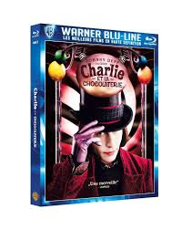 Blu-ray - Charlie et la chocolaterie - Tim Burton - Johnny Depp - Freddie  Highmore - Promo - New