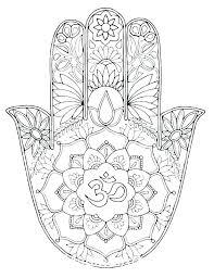 Lotus Mandala Design Flower Free Printable Coloring Pages Animal